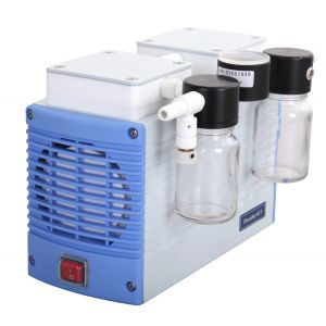 Chemical Resistant Diaphragm Vacuum Pump, Chemker 411, 20lpm, 29.62inHg, 110v, 60Hz