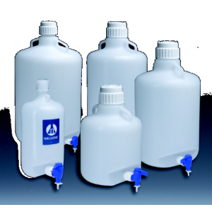 Nalgene® Carboys with Spigot and Handles, Low-Density Polyethylene