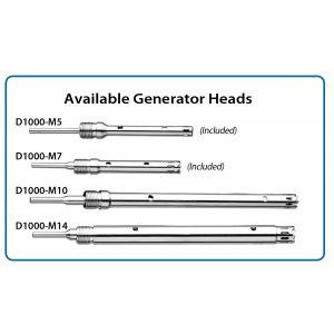 Homogenizer Generator, 10mm x 115mm saw tooth, for 15ml & 50ml tubes (optional)