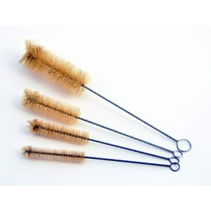 Test Tube Brush, Natural Bristles, 3