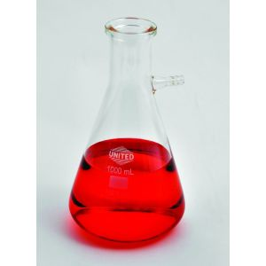 Filtering Flask, Borosilicate Glass, 1000ml, 1/ea