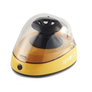 *Clearance* Sprout® Mini-Centrifuge 100-240VAC, 50/60Hz Universal Plug, Yellow
