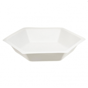 Weigh Dish, Hexagonal Polystyrene, 3 x 3/4