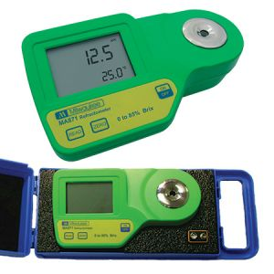 Digital Brix Refractometer, 0 to 85% Brix