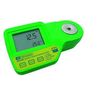 Digital Refractometer for Sodium Chloride Measurements