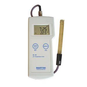 pH / Temperature Professional Portable Meter