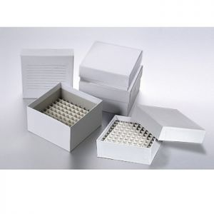 Cardboard Cryo Freezer Box, 5 1/4