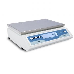 Intelligent Laboratory Classic Top Loading Balance, 16,000g x .1g, 12.6