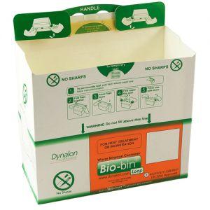 Bio-bin® Waste Disposal Container, Loop Model, 2.5L, 50/CS