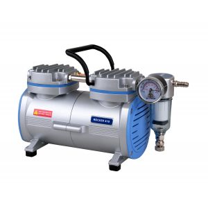 Oil Free Laboratory Vacuum Pump, Model Rocker 400, 37 liters/minute, 26.82inHg, AC 110V/60Hz