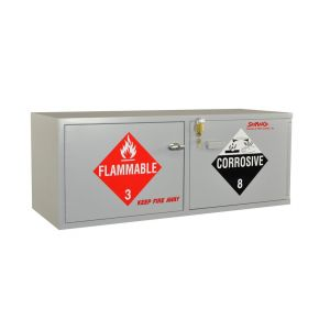 SciMatCo SC2060 Stak-a-Cab™ Combination Acid/Flammables Cabinet, UL Listed, without Self-Closing Door, Corrosive 10 x 2.5 Liter, Flammable 10 x 1 Gallon