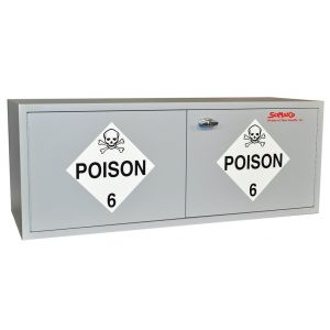 SciMatCo SC2460, Stak-a-Cab™ Poison Cabinet, 20 x 1 Gal.