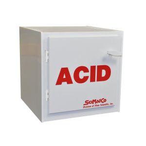 SciMatCo SC5000 Plast-a-Cab™, Bench Polypropylene Acid Cabinet, 6 x 2.5 Liter