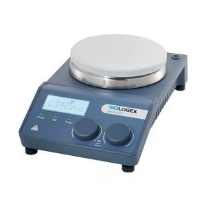 Digital LED Hotplate Stirrer, with Ceramic Coated Steel Plate & PT1000 Sensor, 110V, 50/60Hz
