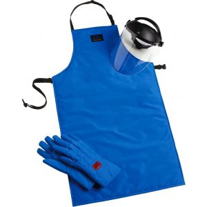 TEMPSHIELD® Cryo-Protection™ Safety Kits, Glove Size Large, Glove Type Mid-Arm, Apron Size 42