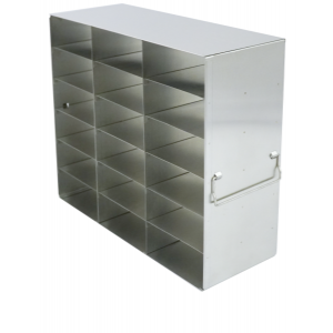 Upright Stainless Steel Freezer Rack for 2