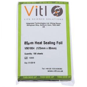 Vitl 85um Heat Sealing Foil - color code BLACK - 100 sheets