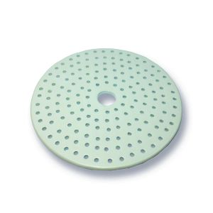 Porcelain  Desiccator Plate, Small Holes, 140mm Diameter, 1 ea